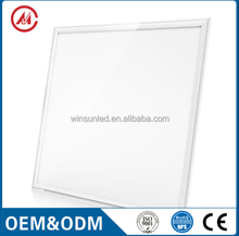 Coulin dimmable frameless 18w 36w 40w ul ultra thin / slim flat price surface mounted 600x600 ceiling square led panel