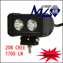 2*10w C ree chips ,spot/flood beam,lumen1700lm,lens material :PC,Aurora led off road light bar 20w