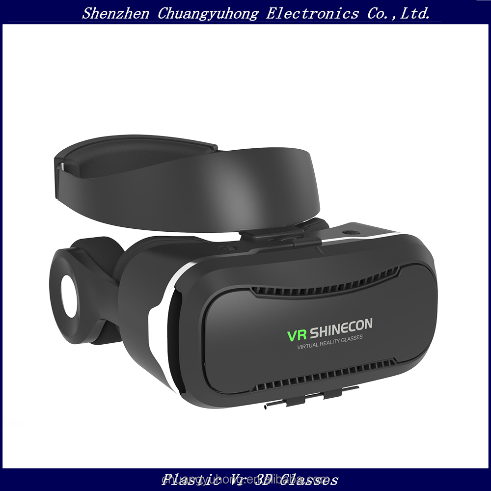 Alibaba China Supplier New Release 2017 Youtube Hot Sexy Movies 3D Vr Glasses Virtual Reality Vr Shinecon 4.0