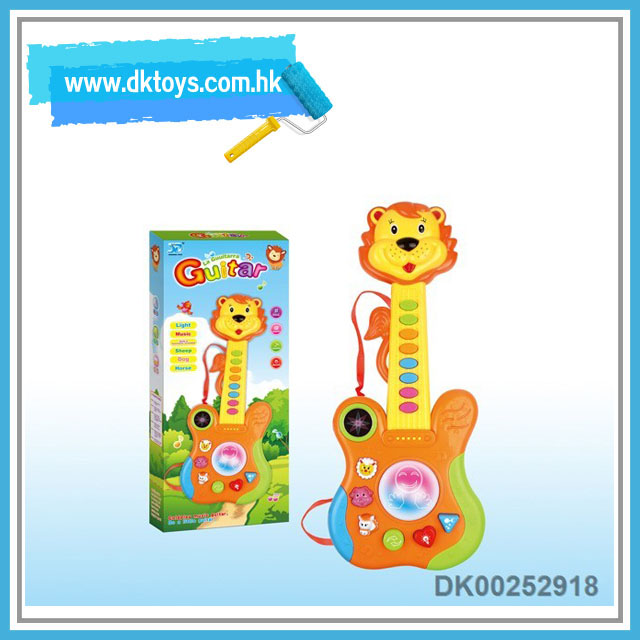 Muaical instrument 15 key electronic guitar animal lion type