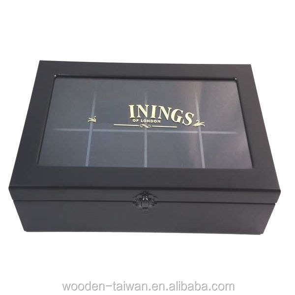 Fashion velvet with window lid jewelry box