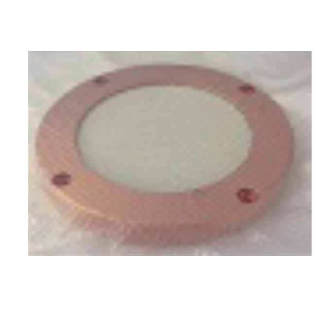 Customized 99.99% High Purity ZnO Target with Copper Backing and Cladding Plate for Sputtering Coating