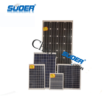 Suoer Monocrystalline Solar Cell Panel 10W 20W 30W 50W 150W Portable Solar Panel