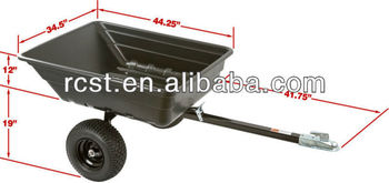ATV utility trailer, luggage trailer, garden trailer