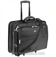 Business luggage draw-bar trolley laptop case for man