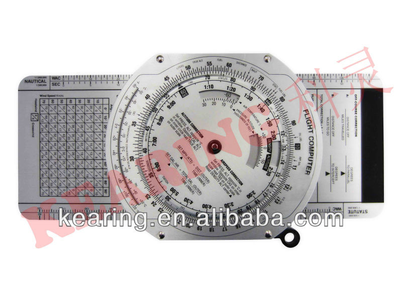 Kearing OEM aviation air speed circle calculater, round wheel E6B flight computer, aviation sectional maps#KCR-3