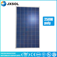 panel solar solar sun tracker 250w poly solar panel made in China