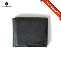 Black Detached Card Holder Best Brand Leather Cool Wallets for Men