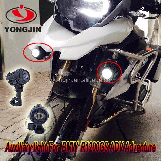 Led auxiliary light for bmw r1200gs