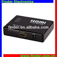 1080P hdmi projector 3*1 V1.3 switcher with Remote Control