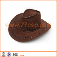 New Fashion Faux Leather Funny Cowboy Hat Mexican Cowboy Hat
