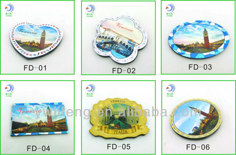 Wholesale Cheap Souvenir Items Custom Funny Magnets Souvenir Item