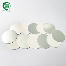 Heat induction pharmaceutical plastic bottle cap seal liner