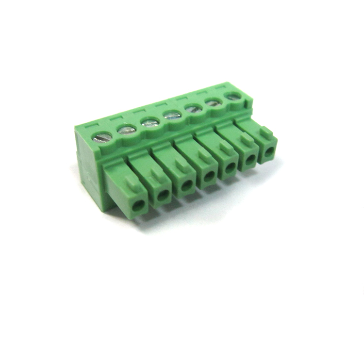 Factory price free sample pluggable terminal block high voltage connector