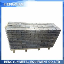 China factory x-ray shielding Lead ingots lead brick lead weights for sale