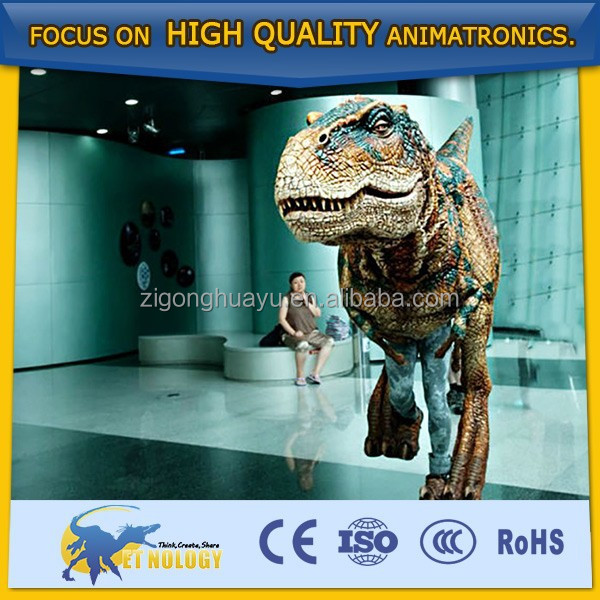 Cetnology factory Price walking artificial Dinosaur clothing for Show/activity