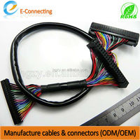 OEM/ODM lvds cable for lcd tv wire harness