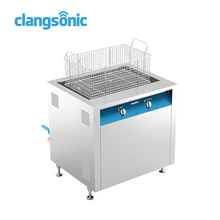 mechanical curtains washing equipment ultrasonic cleaning machine with mechanical timer and heater