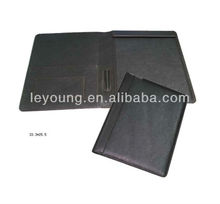 A4 leather bill folder for hotel