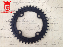32T 34T 36T 38T bike crank wheel chain wheel narrow and wide chainring 7075 AL for road/mtb/ mountain bike Crankset
