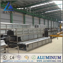aluminum window extrusion profile section