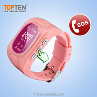 wrist watch personal gps tracker for people/children
