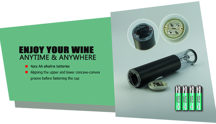 Promotional Christmas Gift Electric Wine Bottle Opener
