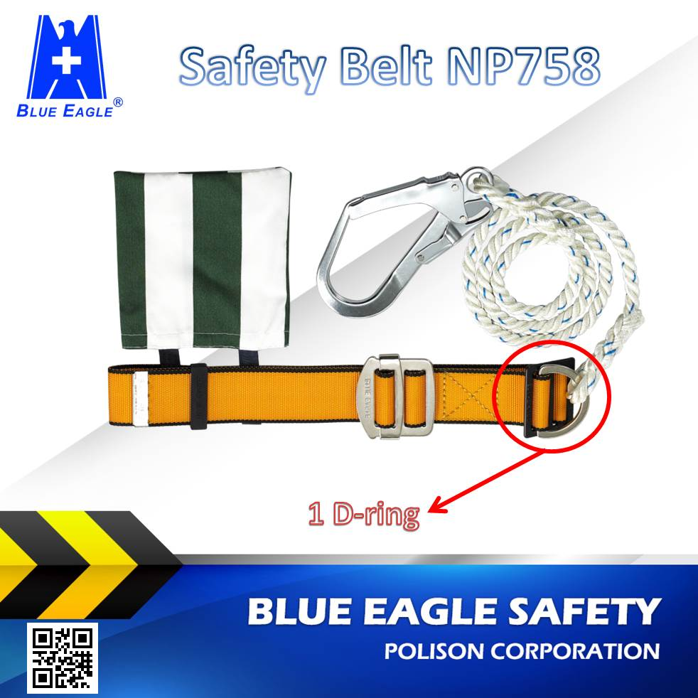 Blue Eagle NP758 work construction hanging safety belts