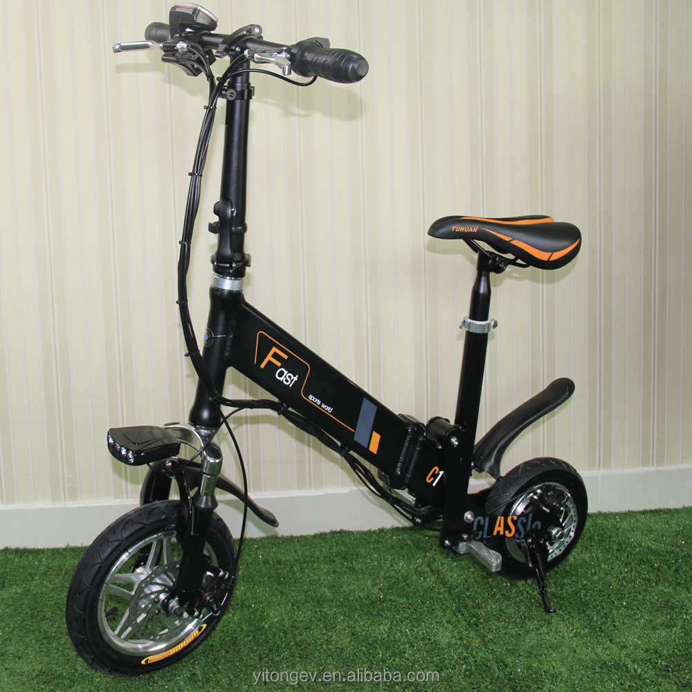 Yitong cycle 36V Voltage and Brushless Motor folding electric bike