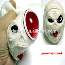 TPR Halloween plastic skull Toy For Children