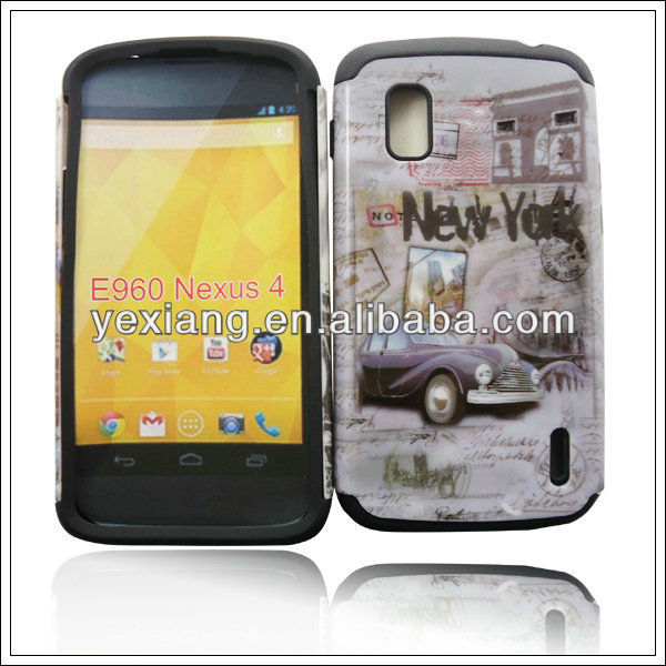 Guangzhou Yexiang wholesale mobile phone case for LG nexus 4 case