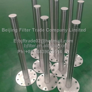 wedge wire screen slotted tube filter used for backwash duplex strainer