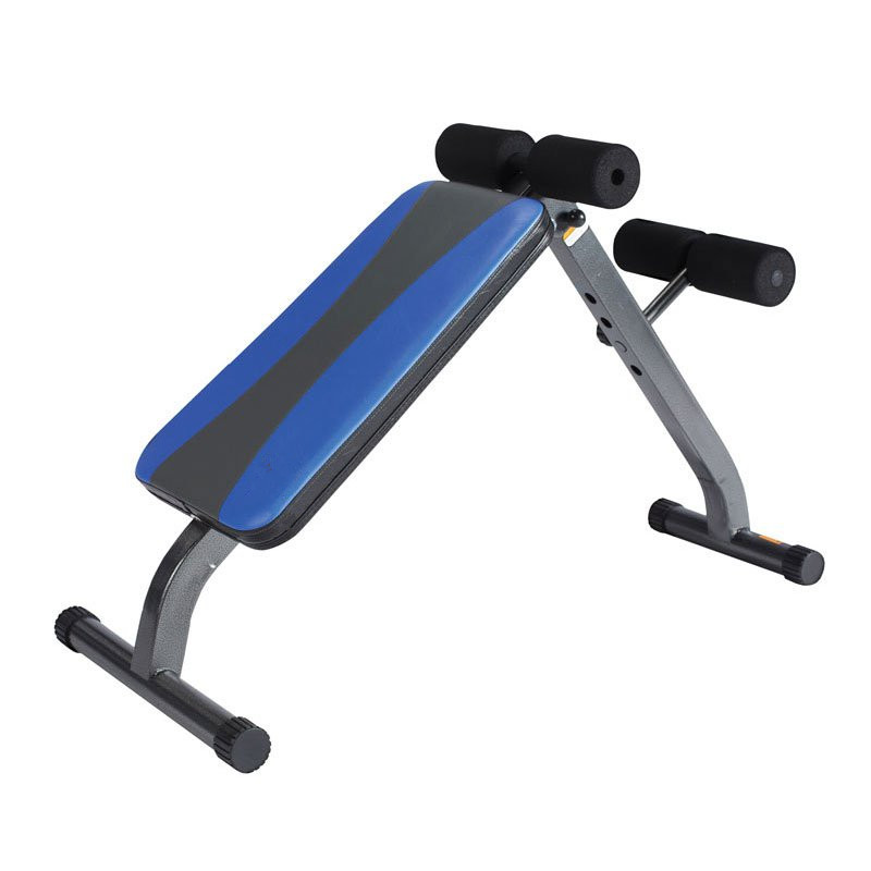 AB Crunch Incline Exercise Curved Sit Up Bench For Sale