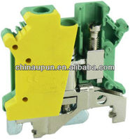 shanghai upun manufacture supplier electrical industrial connection screw terminal blocks UKJ-6JD