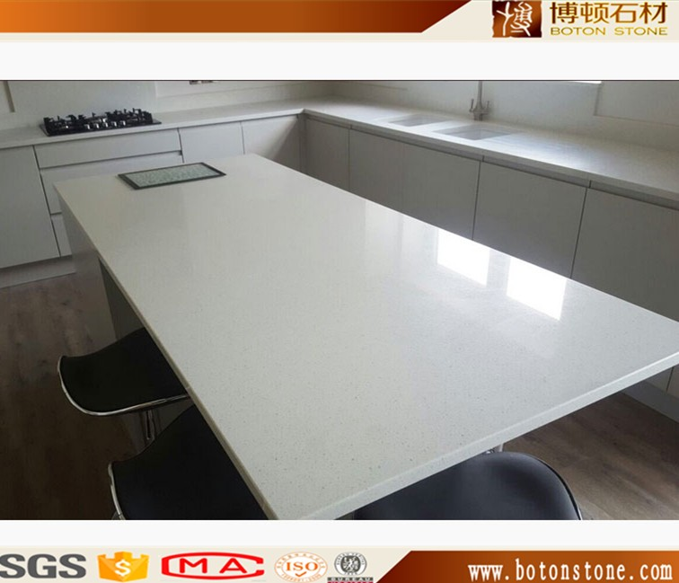 Popular New Fashion red composite engineered quartz stone for countertops