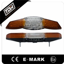 motorcycle spare parts multifunctional motorbike tail lights with turn lighting universal for dirt bike