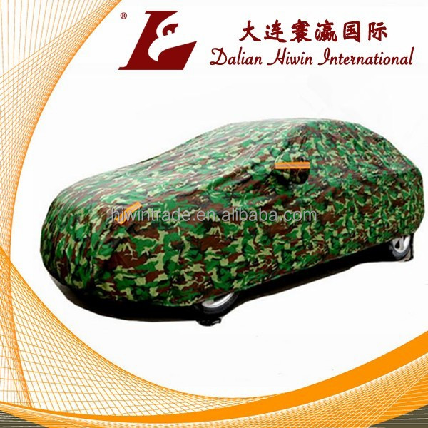 military camouflage Color Car Parking Cover