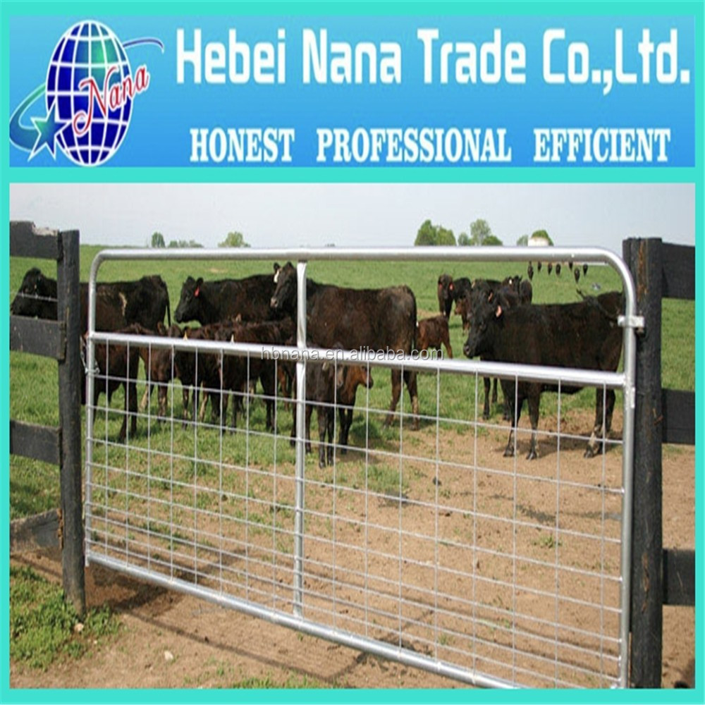 Wholesale Galvanized Removable Cattle/Horse/Sheep Used Livestock Corral Panels Fence , used corral panels