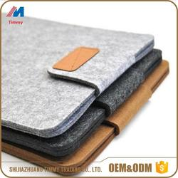 wholesale wool felt laptop bag with CE certificate