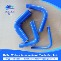 From 10mm to 120mm the silicone hose 90 degree rubber radiator hose