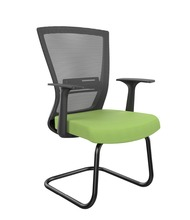 U shape iron mesh training chair for office conference meeting hall