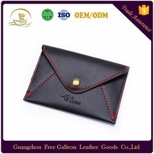 wholesale card holder PU leather wallet thin personality customized men's wallet