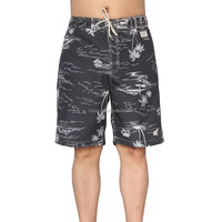 2016 new arrival factory hot sale polyester mens printed board swimwear cargo shorts
