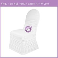 951 For Sale Wholesale Cheap Spandex Folding Wedding Chair Covers Rental Manufacturers