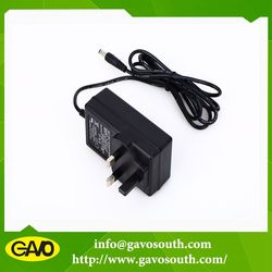Chinese Manufacturer high efficiency 24v 1.5a ac dc mass power adapter