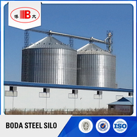Assembaly Paddy Galvanized Grain Storage Steel Silo