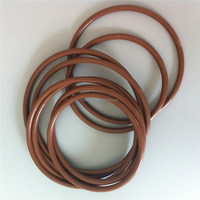 Red viton flat o ring/ electric meter plastic seal for