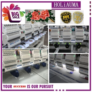 China Best Selling 4 Heads Computerized Embroidery Machine Swf Sewing Machine China Good Quality Flat Embroidery Machine