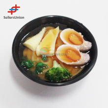 2017 No.1 Yiwu agent hot sale export commission agent Household simulation food with black bowl fridge refrigerator magnet