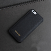 Full grain cow leather custom leather cell phone case for iPhone 6s/6 plus